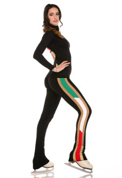 Made in Italy roller skating pants for girls and women.