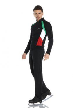 giacca pattinaggio uomo tricolore Italia